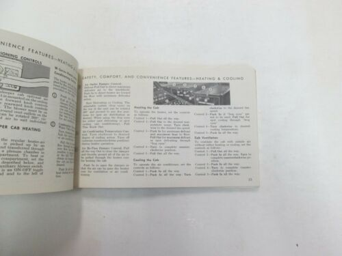 1968 Ford 500 THRU 1000 Gas Diesel Truck Owners Operators Manual MINOR FADING 68
