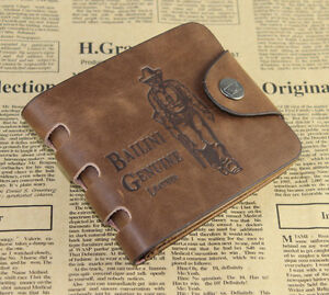 Mens-Leather-Bifold-Pockets-Card-Clutch-Cente-Money-Clip-Cad-Holder-Wallet-Purse