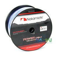 Nakamichi Nw-pc8-250ft 250 Ft Spool Car Audio 8 Awg Power Cable Wire