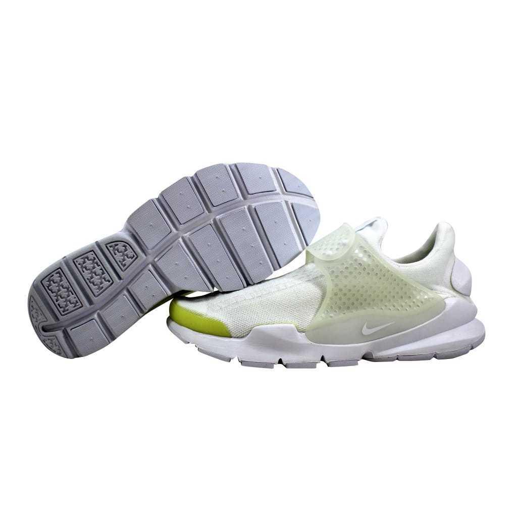 Nike Sock Dart KJRCD White White-White-Black 819686-100 Men's SZ 10