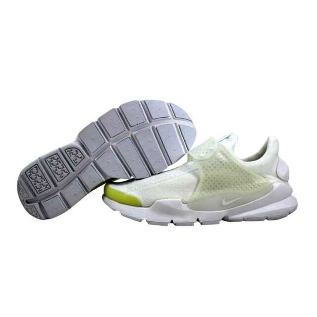 d64549ca3475 Nike Sock Dart KJCRD 819686-100 Knit Jacquard Triple White Black ...