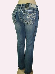"New Silver Jeans SUKI 17"" Mid-Rise Relaxed Hip/Thigh Slim ..."