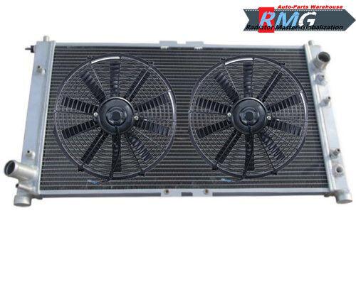 2Row Aluminum Radiator For 1995-2002 Mazda Millenia 2.3L//2.5L V6 96 97 1998 2000