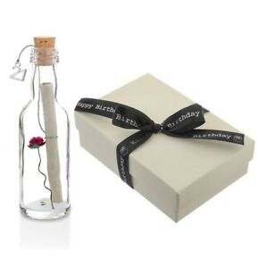 Image Is Loading Personalised 21st Birthday Gifts Message In A Bottle