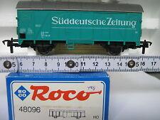Roco HO 48096 Güterwagen Süddeutsche Zeitung 120 1790-3 DB (CD/083-9R3/6)
