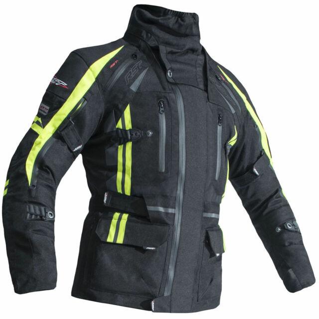 RST Alpha 4 CE Black Textile Motorcycle Jacket Size UK48,EU58,2XL