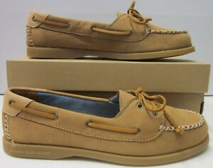 Tan Size 5 A Leather 9 Sperry Topsider New Women Womens o Venice wn8qBO6H0x