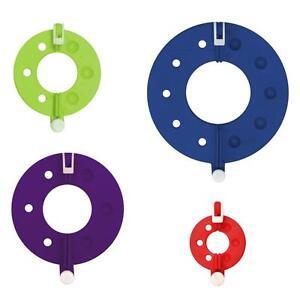 KnitPro-Conjunto-de-4-Split-Pom-Pom-Maker-Ganchillo-Tejer-Artesania-Herramientas-Accesorios
