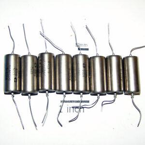 8-x-200V-0-22uF-22uF-220nf-K40Y-9-K40U9-PIO-PAPER-CAPACITORS-NEW