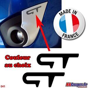 2 bumper stickers for twingo gt-renault sport contour anti mist