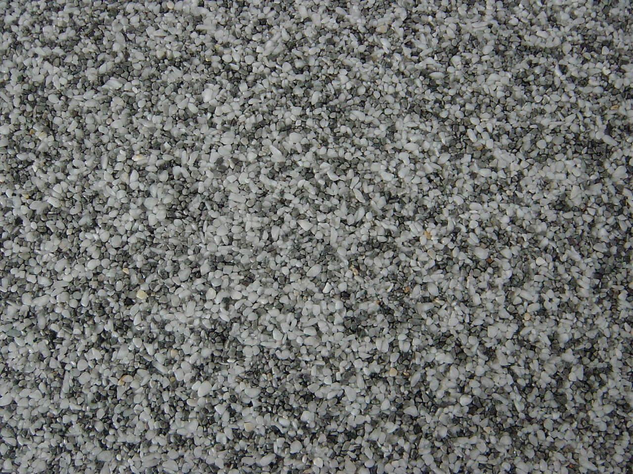 STEINTEPPICH, MARMOR 2m²  WEISS  GRAU 2-6 mm