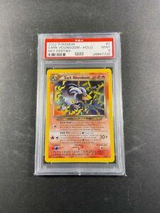 Pokemon Neo Destiny DARK HOUNDOOM PSA 9 Unlimited 7/105 2001 Mint