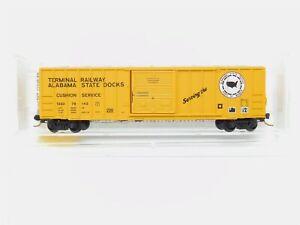 N-Scale-MTL-Micro-Trains-25160-TASD-Terminal-Railway-Alabama-50-039-Box-Car-78142
