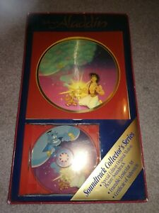 1992-Disney-ALADDIN-Soundtrack-CD-Collector-039-s-Series-Lenticular-Art
