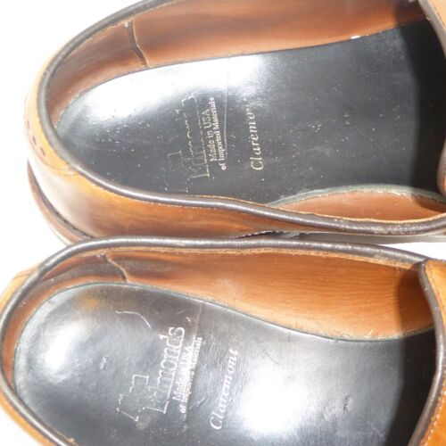 Allen Dress Shoes On Kiltie Us Claremont 11 Brown Slip uomo B Edmonds rcqr0HwA