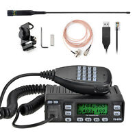 Mini Tokmate VV-898+ UHF/VHF car/vehicle Mobile two way ham radio 199ch +Cable