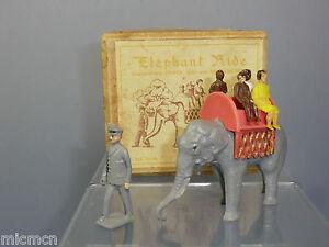 Vintage F.g.taylor No.372 * Promenade en éléphant * Vn Mib   Vintage F.g.taylor No.372 *elephant Ride* Vn Mib