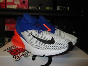 outlet store 2a675 73d33 Image is loading SALE-NIKE-AIR-MAX-270-FLYKNIT-WHITE-BLACK-