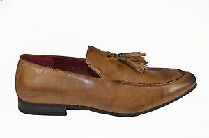 Hombre-Zapatos-piel-sintetica-Casual-Formal-Moderno-ANTIDESLIZAMIENTO-Ons-CON