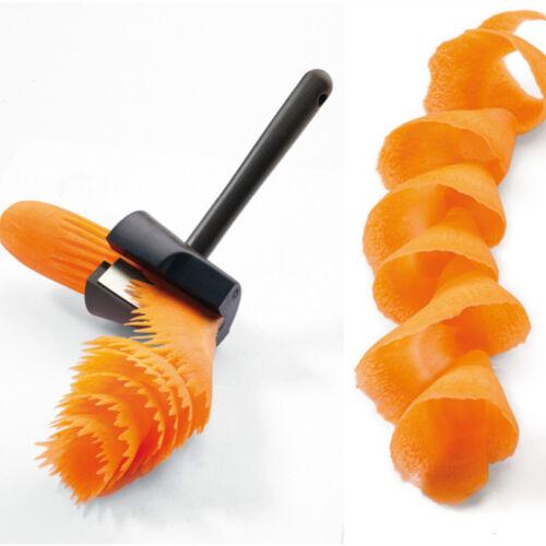 YGS-Y041 Plastic Slicers Vegetable Fruit Spiral Shred Process Wave type Shredder
