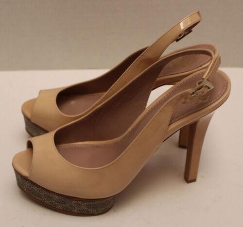 color camuto color Nuove vince da marrone alto donna tacco scarpe con chiaro petalo w8qwSYv