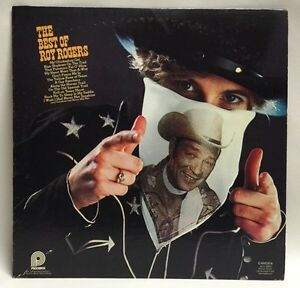 The Best Of Roy Rogers 1975 Camden Pickwick Lp Ex Record