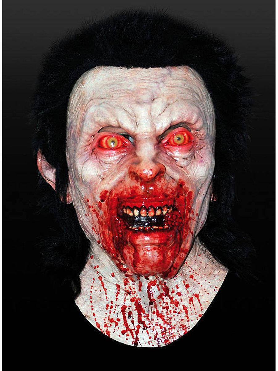 Blautrünstiger Maske aus Latex Karneval Halloween Vampir