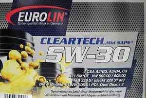 Motoroel-Ol-5W-30-5W30-PDI-Pumpe-Duese-20-Liter-VW-Audi-Mercedes-BMW-Longlife-20l