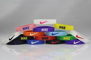 Image Is Loading Nike Sport Baller Band Silicone Rubber Bracelet Wristband