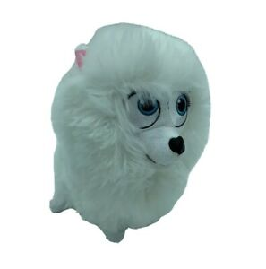 "Secret Life of Pets 7"" Gidget White Dog Plush Stuffed Animal Toy Spin Master (9)"