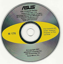 ASUS A7V133 Motherboard Drivers Installation Disk M176