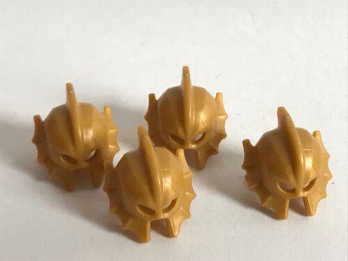 4 LEGO ATLANTEAN gold helmet 76085 DC Super Heroes Justice League