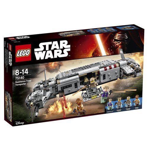 LEGO Star Wars - Resistance Troop transport,(75140) + 75141 Kanan's Speeder Bike