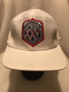Image is loading Vtg-Super-Bowl-XXV-Designer-Award-Headwear-Snapback- a15d15cc7