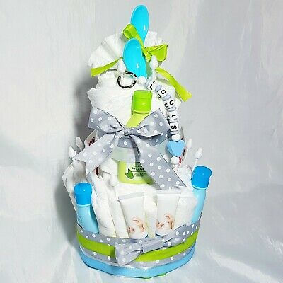 Windeltorte Mädchen♡Name Schlüsselanhänger ♡ Geschenk Geburt Taufe o Babyparty