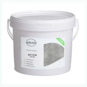 Beton optik effektfarbe 100 bio profi betonoptik 20kg - Beton effekt farbe ...