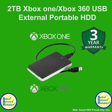 Xbox 2TB Disco duro externo portátil de USB3.0 para Xbox One/XBOBX 360 ** nuevo **