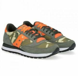 SAUCONY-JAZZ-ORIGINAL-2044-536-verde-arancio-sneaker-uomo-green-orange-man