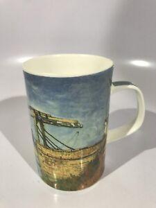 DUNOON-Langlois-Bridge-Fine-Bone-China-Mug-Made-In-England-RARE