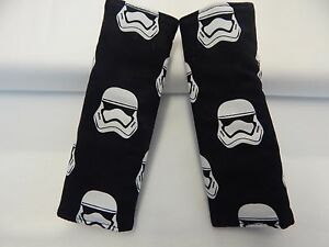 star wars storm troopers black child seat strap covers car chair