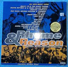 Rhyme & Reason -LPx2- Soundtrack ATCQ, RAS KASS, E-40, KRS, RZA, BUSTA