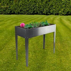 Dema Metall Balkon Tisch Hochbeet Anzuchtbeet Gemusebeet Verzinkt