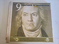 BOX 7 LP - LE NOVE SINFONIE DI BEETHOVEN / LEIBOWITZ - RCA / SELEZIONE EX/NM