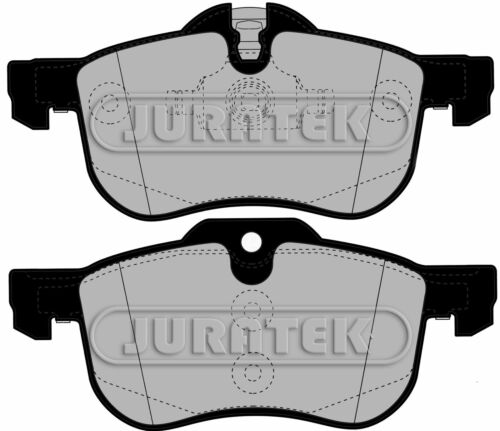 JURATEK FRONT SET OF BRAKE PADS  FOR MG MG ZT 1951CCM 131HP 96KW