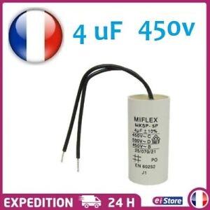 Condensateur-moteur-de-demarrage-permanent-4-F-4uF-450V-a-fils-travail-MKSP-5P