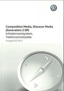 VW-COMPOSITION-DISCOVER-MEDIA-2-GP-2017-Infotainment-Bedienungsanleitung-RN