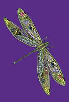 Toland Garden Flag Totem Animal Spirits Dragonfly 12.5 X 18 Made In Usa