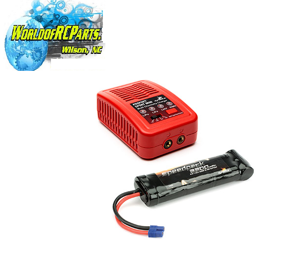 Dynamite DYN1501 8.4V 7 CELL NIMH BATTERY & CHARGER