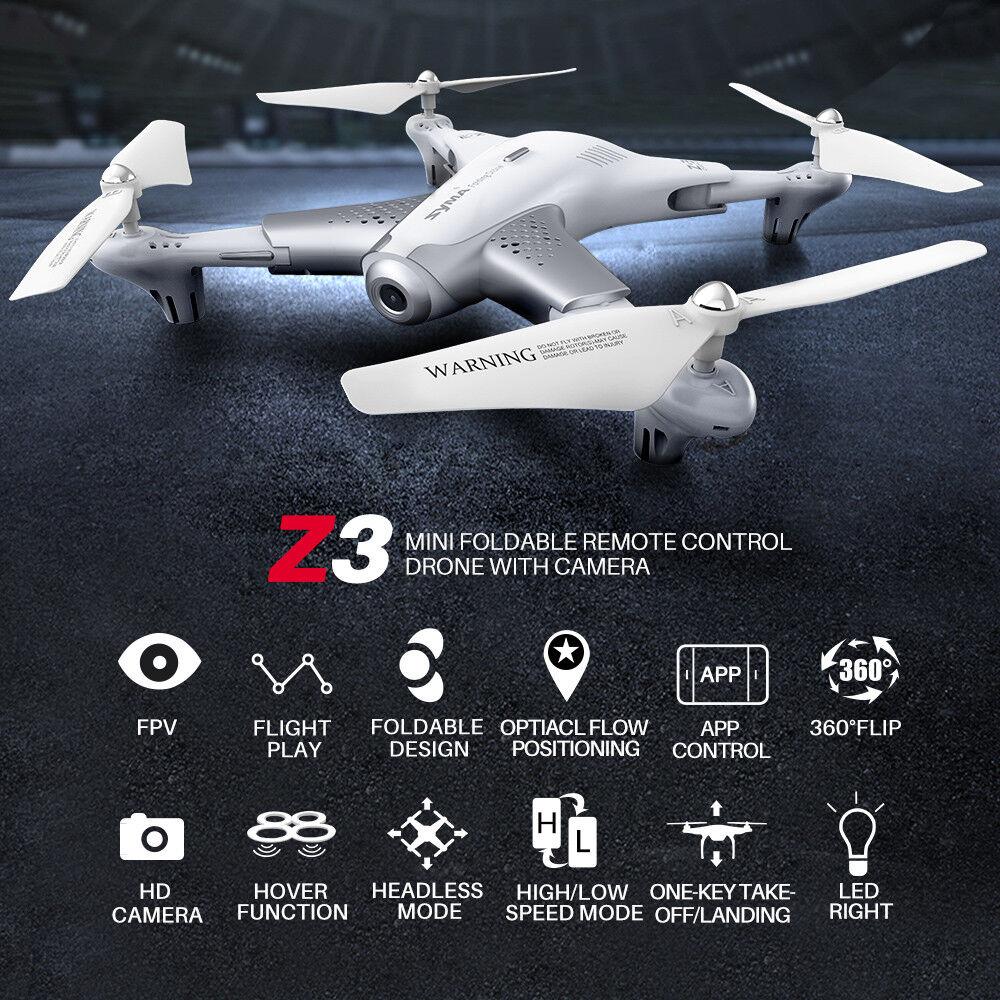 2018 RC Quadcopter Drone SYMA Z3 Optical Flow Altitude Hold Light Easy Control