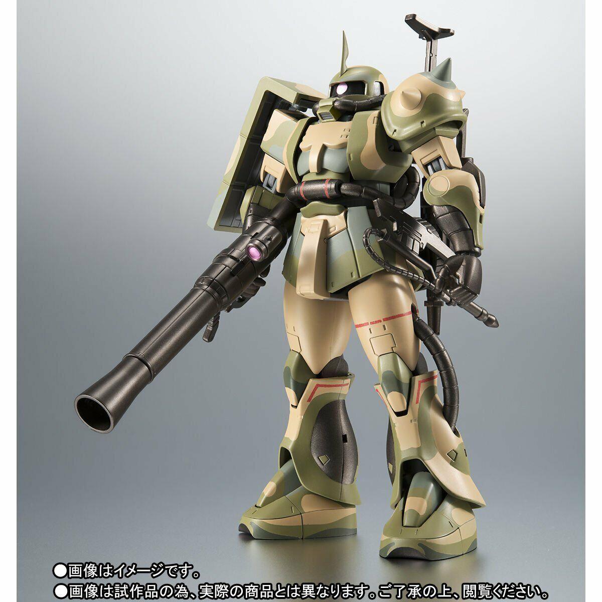 Bandai Robot Spirits lado MS MS-06J Zaku humedal tipo Ver. A. n.i.m.e.